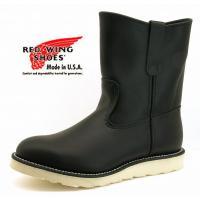 レッドウイング 品番RW8169 ペコスローパー ブラック  made in USA  世界的に人気...