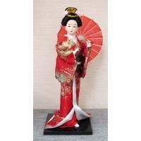 12インチ日本人形 外国へのお土産品 パッケージ入り  外国の方が喜ぶ日本人形のお土産品です。 美し...