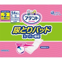 大王製紙 アテント 尿とりパッド スーパー吸収 女性用 54枚