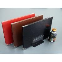 商品名   メニューファイル A4 4ページ  商品番号  h54410 黒 /h54420茶 /h...