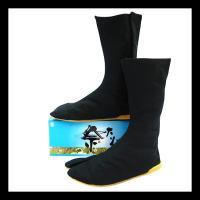 ◆衝撃吸収剤入りロングタイプの子供用地下足袋です! ◆履かせやすいマジックテープ式で、こだわりの縫い...