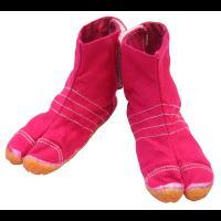 ◆めちゃめちゃ可愛いです!◆白地の地下足袋を染色加工(あと染め)した「祭屋」オリジナルのカラー地下足...