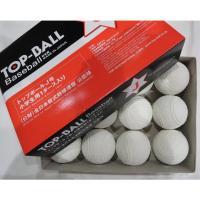 【送料無料】トップインターナショナル J号 1ダース 軟式野球ボール 小学生用 ジュニア 公認球 試合球 検定球 16JBR123