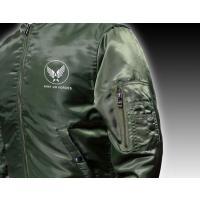 MA-1 ミリタリー ジャケット メンズ オリーブ / 爆弾エアフォース メンフィス ベル モデル