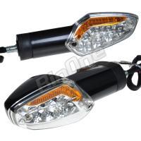 CBR250R専用 LEDウインカー オレンジポジション付き LEDウィンカー アンバー LEDポジ...