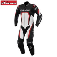 (レザースーツ) alpinestars MOTEGI LEATHER SUIT 0915 ブラック...