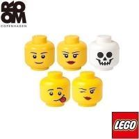 レゴ ブロック 収納 ケース 小物入れ ストレージヘッド ラージ 顔 頭 収納ボックス 積み重ね おもちゃ収納 おもちゃ箱 LEGO インテリア 送料無料