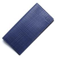 ロエベ / LOEWE / 長財布 / ENGRAVED CALF / NAVY BLUE ブルー系...
