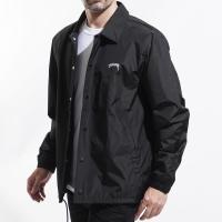 ステューシー STUSSY コーチジャケット CRUIZE COACH JACKET ブラック メンズ 115431-black