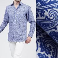 エトロ / ETRO / セミワイドカラーシャツ / BLUE ブルー系 / 12908 6551 ...