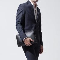 ハンティングワールド HUNTING WORLD セカンドバッグ ブラック メンズ バッグ ビジネス デイリー 軽量 週末 普段づかい BATTUE ORIGIN