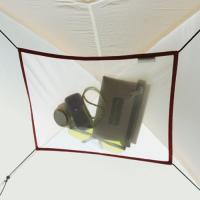 天井部分のスペースを物置として有効に利用するためのメッシュ製ロフトです。「ステラリッジテント(6型を...