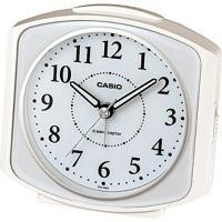 MDCGIFT - カシオ 電波時計 置時計 アナログ 目覚まし時計 おしゃれな ホワイト 白 見やすい アラビア数字(CL15JU29WHT)アラーム ライト付き CASIO 卓上 電波 置き時計|Yahoo!ショッピング