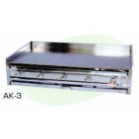 ガス式の 業務用 卓上鉄板焼 AK-3 です。 外形寸法は、横幅910 x 奥行560 x 高さ18...