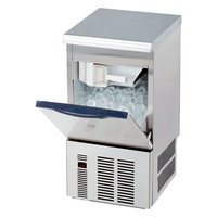 大和冷機製の 25kg/日 タイプの製氷機です。 この製氷機は、他メーカの製氷機に比べると、排水ホー...