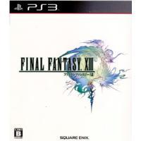 『中古即納』{PS3}ファイナルファンタジーXIII(FINAL FANTASY 13/FF13)(20091217)
