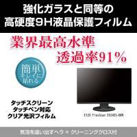【強化ガラスと同等の高硬度9Hフィルム】EIZO FlexScan EV2455-BKR [24.1...