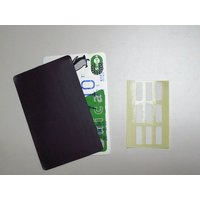 電磁波干渉防止シート(電磁波 カード) SoftBank au docomo スマホ機種などスマホと...