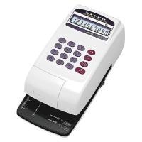2段階に印字圧を調整可能な刻み込み印字。机の引出しに収納できる、小型軽量タイプ。●桁数:10桁●外寸...