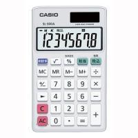 新デザインの8桁手帳型電卓<br><br>パーソナルサイズ 持ち運びに便利な...