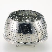 ●商品名:パール金属 便利小物 万能蒸し器 [ 折りたたみ足式 ] ●カタログ掲載:S-21684 ...
