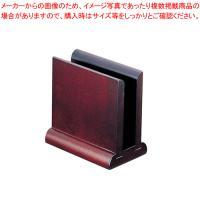 メニュー立て スタンド ●商品名:木製メニュー立 MA-018 寸法(mm):101×61×H100...