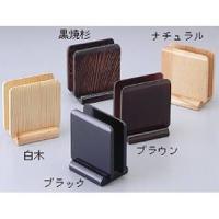 メニュー立て スタンド ●商品名:木製 メニュー立て 白木 M40−562  寸法(mm):103×...