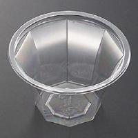 ●透明なのでトッピングが映える●口径が広く底も安定しているのでフルーツやアイスをのせやすい●口径・高...