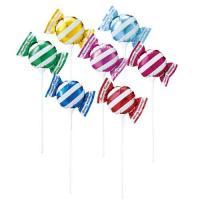 ●スティック付きのキュートなキャンディ型ミニバルーン!●サイズ:W17.5×D7×H15cm●スティ...