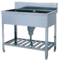 送料無料 ●商品名:ステンレス シンク 一槽シンク 厨房シンク 厨房機器 SZ型 SZ-1560 1...
