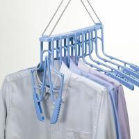 ●洗濯物の襟ぐりを伸ばさずスムーズに干せます。●ハンガー8本分がまとめて干せます。●寸法:約 幅50...