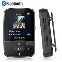 Victure Bluetooth Clip MP3プレーヤーは、ワイヤレスヘッドセットで臨場感があ...