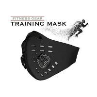 持久力 肺活量向上 トレーニング フィットネス用 低酸素マスク 着脱ダストカットフィルタ付き アスリ...