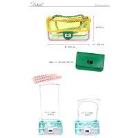 PVCクリアハンドバッグ フラップバッグ ハンドバッグ ショルダーバッグ [送料無料]※代引き手数料&送料(一部地域:別送料)別途。