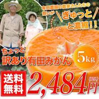 【商品】訳あり極み有田みかん             【内容】5.0kg (風袋込み)       ...