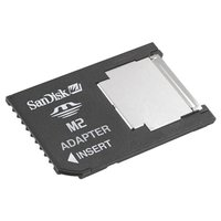 サンディスクのメモリースティック マイクロ M2から、メモリースティックPRO Duoへの変換アダプ...