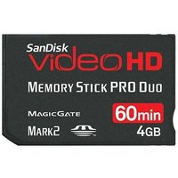 Sandisk メモリースティック PRO Duo VIDEO HD 4GB Mark2 Magic...