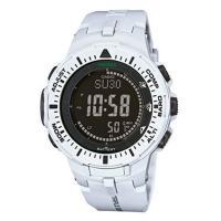 カシオ プロトレック トリプルセンサー ソーラー メンズ 腕時計 PRG-300-7です。  方位、...