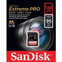サンディスク エクストリーム プロ SDXC UHS-Iカードは、UHS規格に対応し、最大読込速度9...