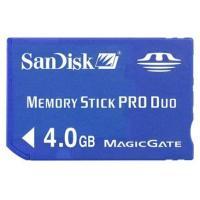 サンディスク メモリースティック PRO Duo 4GB バルク品です。  ●容量:4GB ●最大読...