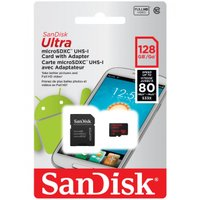 microSDXC 128GB ULTRAシリーズ UHS-180MB/s SD変換アダプタ付属。 ...