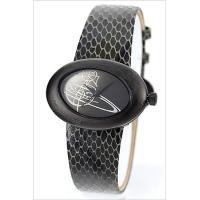ヴィヴィアン・ウエストウッド レディース腕時計 エリプス Vivienne Westwood ブラッ...