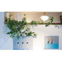 アイビーガーランド グリーン イミテーション フェイクグリーン 造花 大人気 グリーンガーランド アイビー 葉 ツタ フェイク ガーランド 葉 ツル 壁面緑化