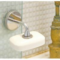 ダルトンより、少しかわった形の石鹸置きのご紹介です。  ■ホルダー部分に固形石鹸を、セットして使用し...