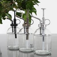 ダルトン グラススプレー ガラス ポンプ DULTON K855-1100 ガラススプレー スプレー spray 霧吹き おしゃれ ガーデン ガーデニング おしゃれ アメ 透明 ガラス