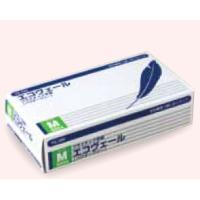 プラスチック手袋(パウダーフリー)エコヴェール YG-500-2 Mサイズ 100枚/箱【返品不可】