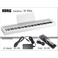 【コルグ 電子ピアノで最もリーズナブルなコンサートシリーズ 電子ピアノ B1】  ■ピアノ独特の豊か...