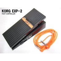【特徴】 KORGのエクスプレッションペダル(ボリュームペダル)です。 様々な使い方が出来るエクスプ...