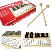 1936年設立の知育楽器の専門メーカー、ドイツ・goldon社の 「25音メタロフォン(鉄琴)」です...