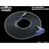 ノイズレス、ナチュラルな信号伝達、耐久性抜群。プロフェッショナル仕様のVOXギター/ベース用ケーブル...